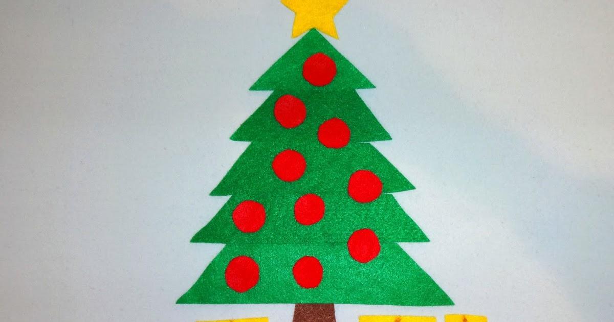 Mom's Tot School: Christmas Trees
