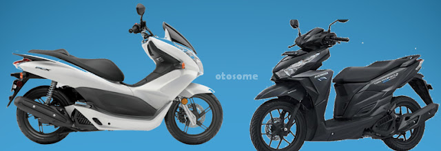 Honda Vario scooter and PCX 150 eSP