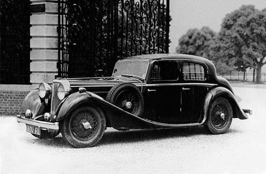 S.S. Jaguar 2.5 litre Saloon 1935