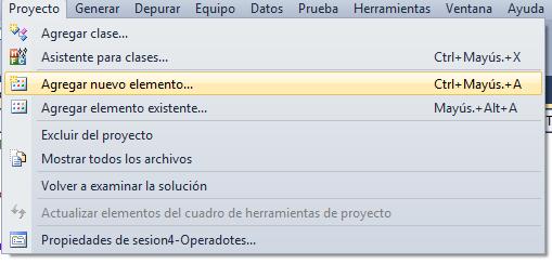 Primer Programa en Visual Basic
