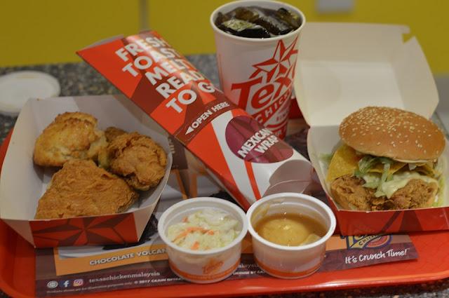 Cawangan Texas Chicken Baru Dibuka Di KLCC