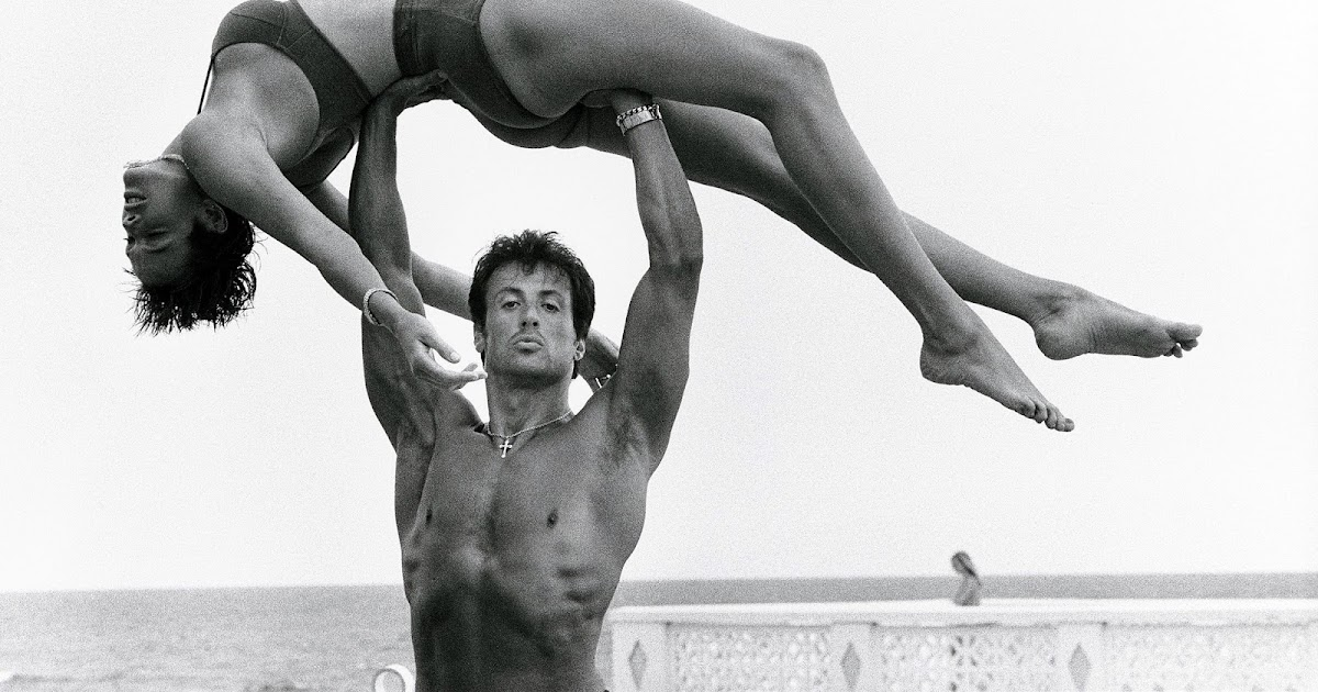 270fda8a4f Sylvester Stallone and Brigitte Neilson on Long Island, New York 1987 |  BlueisKewl