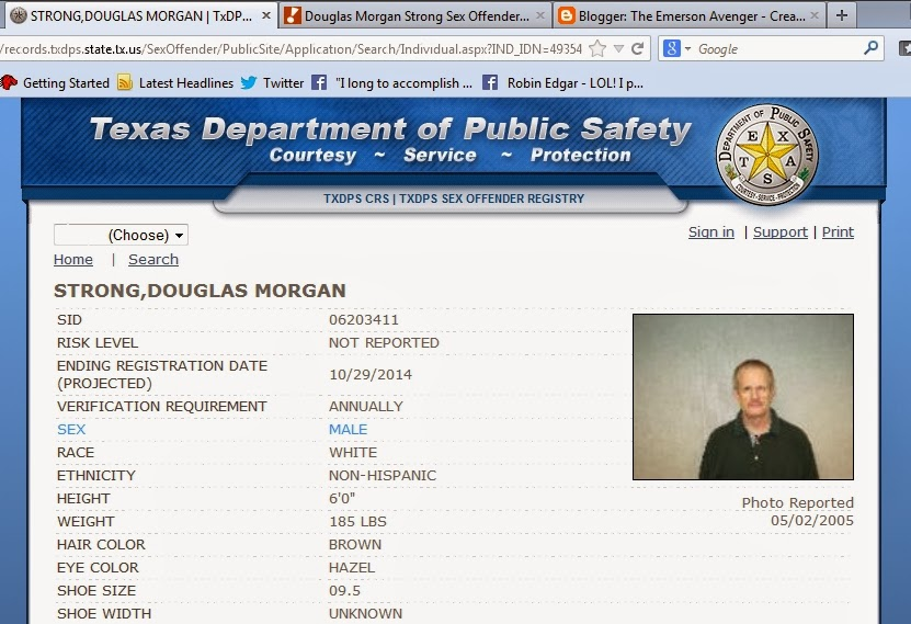 registered sex offenders hopkins co tex
