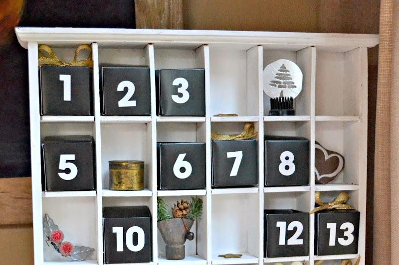 How to Make a Junk Lovers Advent Calendar