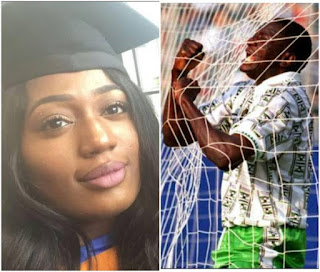 Rashidi yekini's daughter graduates from university in U.K