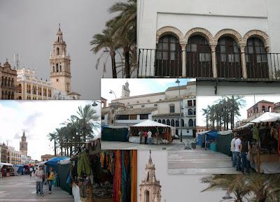 Mercado Medieval de Écija , Sevilla.