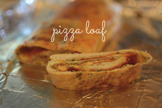 Make: pizza loaf | My Darling Days