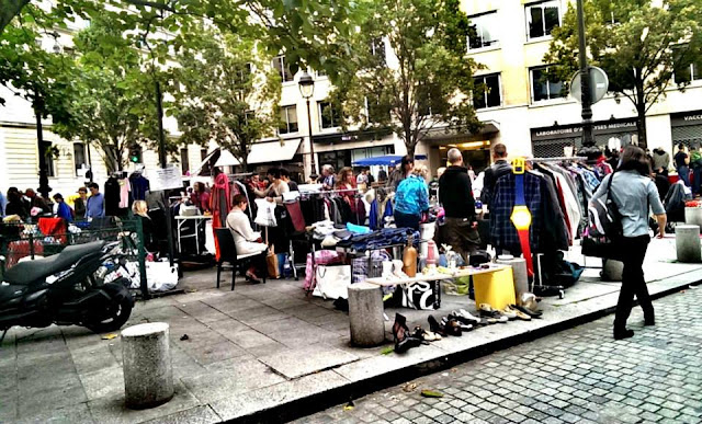 巴黎跳蚤市集