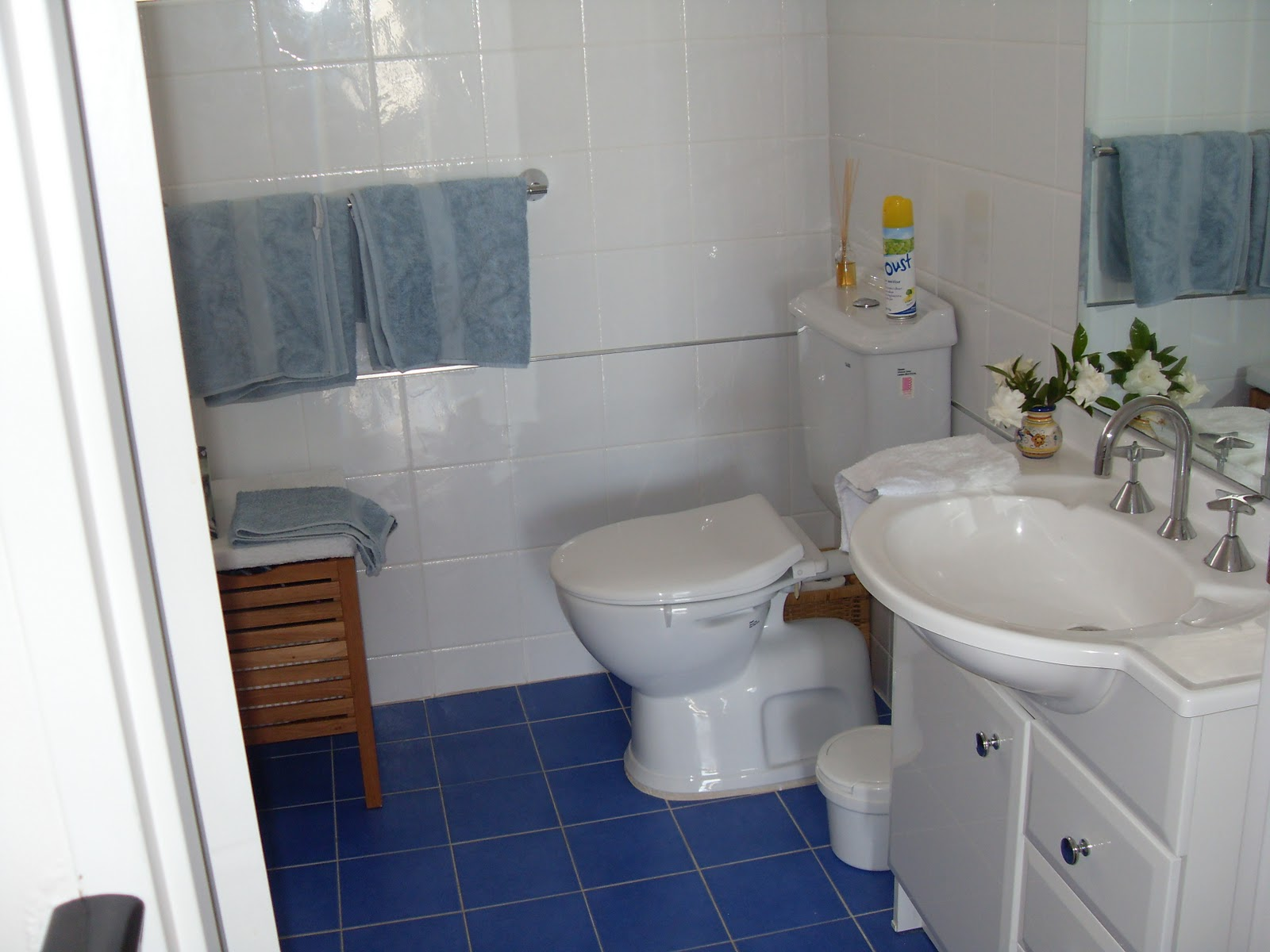 Bathroom Tile Flooring Have Never Liked My S Blue Floor Tiles