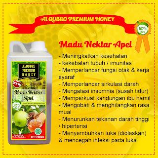 Madu Al Qubro Premium Apel 1 Kg | Produsen Madu Al Qubro Premium