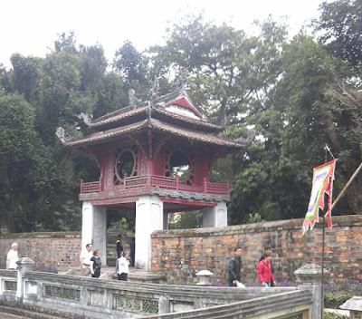ハノイの文廟(孔子廟)