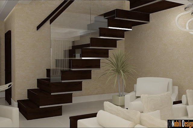 Design interior case moderne - Design interior living modern Constanta