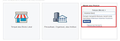 Kategori dan Halaman FB