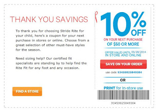 photograph relating to Stride Rite Printable Coupon identify Stride Ceremony Printable Discount coupons July 2017 - Retail Retailer Coupon codes