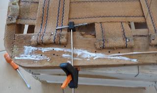 jak naprawić stary fotel