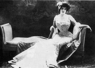 La bella Judith Gautier, apasionada de la música wagneriana desde su adolescencia.