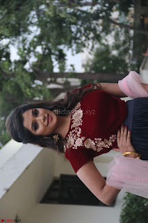 Actress Aathmika in lovely Maraoon Choli ¬  Exclusive Celebrities galleries 030.jpg