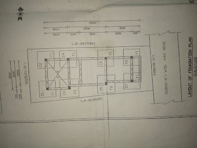 layout of foundation plan