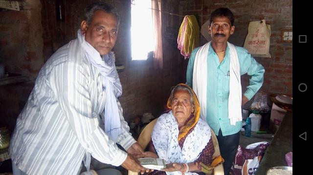 पूना बाई ने सरस्वती शिशु मंदिर को 1 लाख रूपए दान किए | JABALPUR NEWS