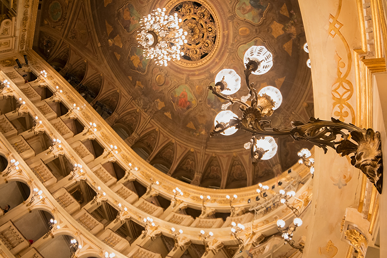 Bologna Opera House - 12 Days in Italy