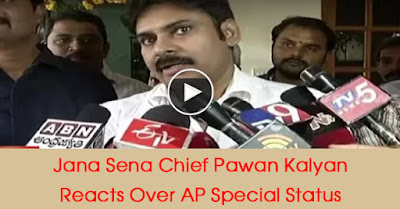 Jana Sena Chief Pawan Kalyan Reacts Over AP Special Status