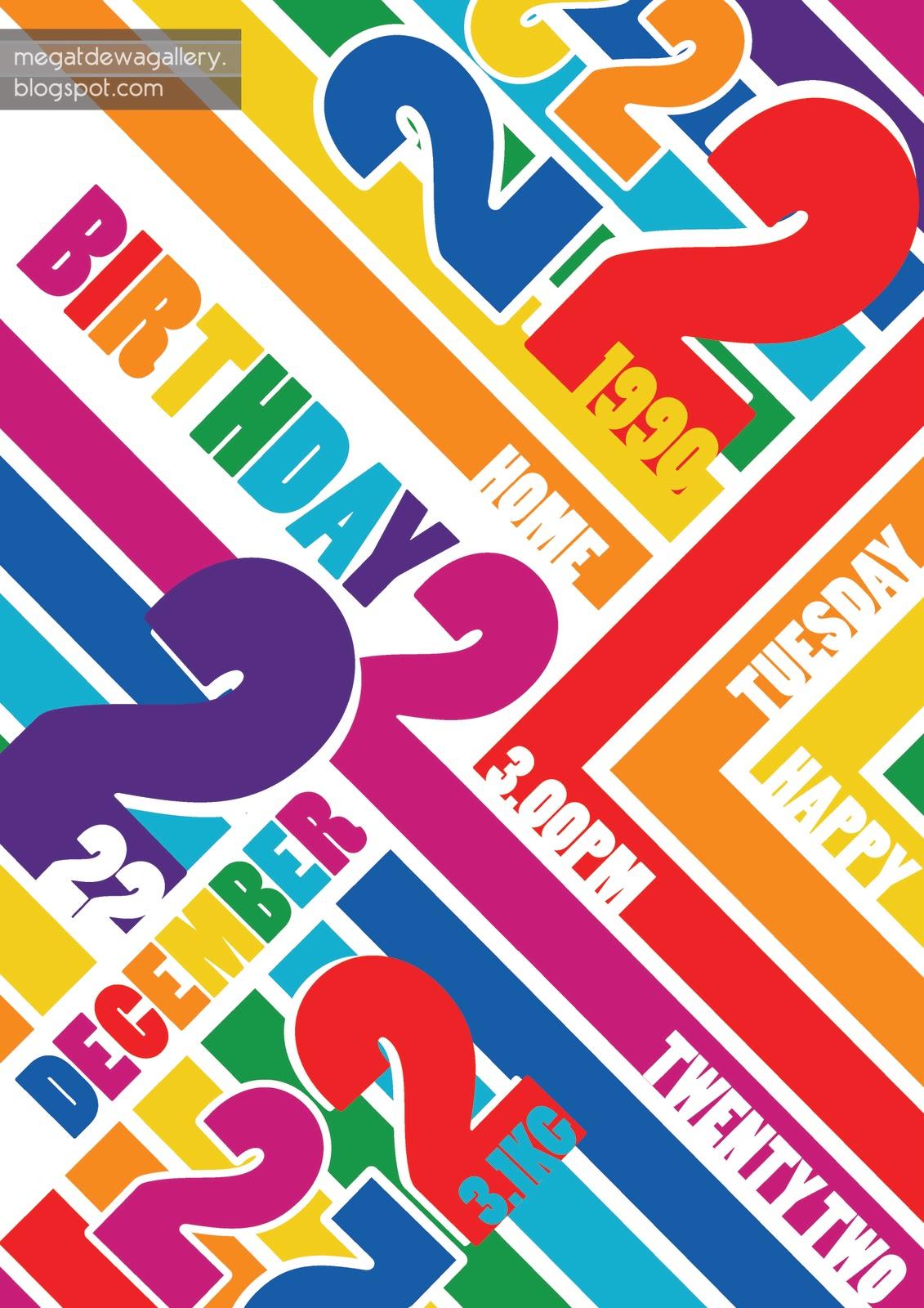 Megat Dewa Poster Design