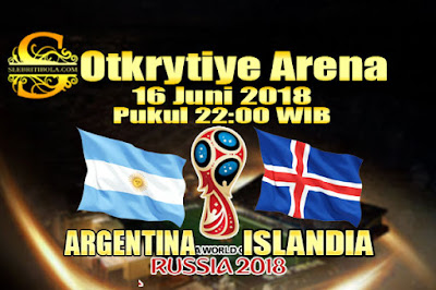 AGEN BOLA ONLINE TERBESAR - PREDIKSI SKOR PIALA DUNIA 2018 ARGENTINA VS ISLANDIA 16 JUNI 2018