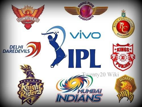 Vivo IPL 2016 Schedule Time Table - IPL 9 T20 Fixtures