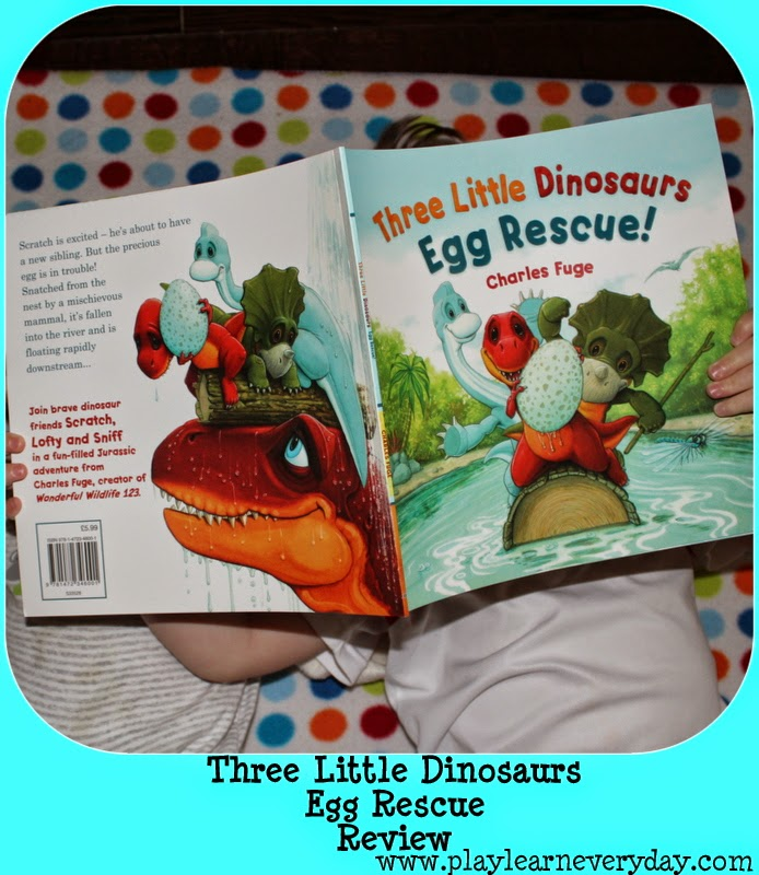 Three Little Dinosaurs: Egg Rescue! - Review - Play and
