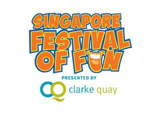 Source: Clarke Quay. Singapore Festival of Fun logo.