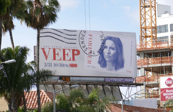 Veep final season billboard