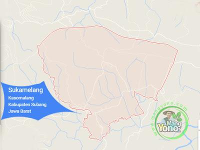 PETA : Desa Sukamelang, Kecamatan Kasomalang
