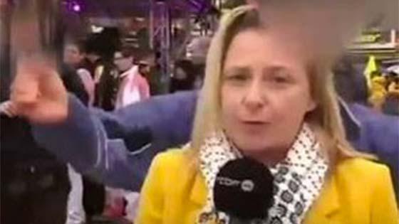 Wartawan malang dicabul ketika liputan langsung