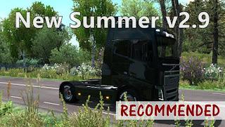 ets 2 new summer v2.9