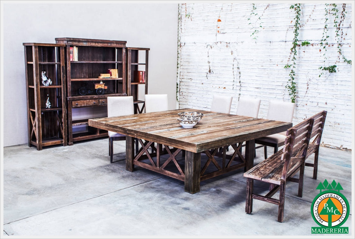 Productos maderables de cuale 10 mesas de madera - Mesas de madera modernas ...