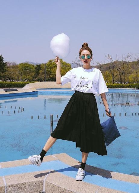 gaya fashion wanita 2018