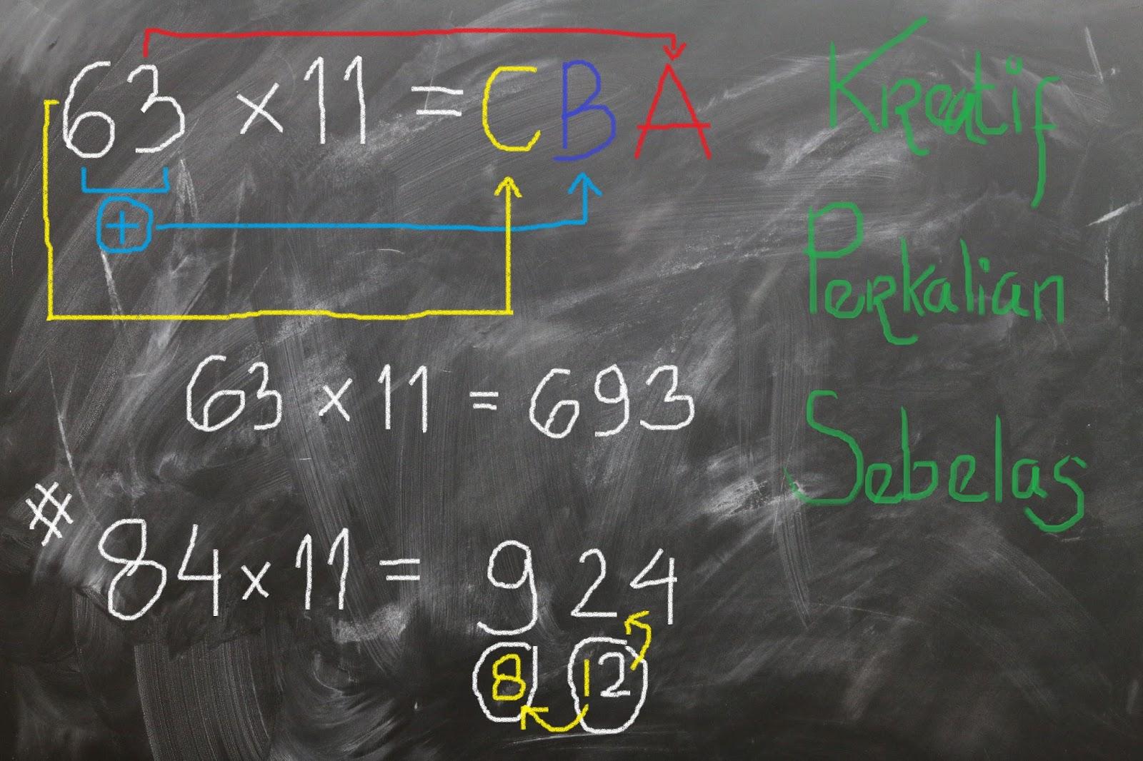 Matematika Kreatif Pada Perkalian 11 Menjadi Sangat Mudah