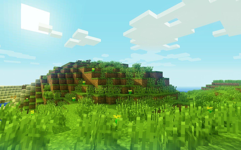 minecraftlandia  lindas paisagens