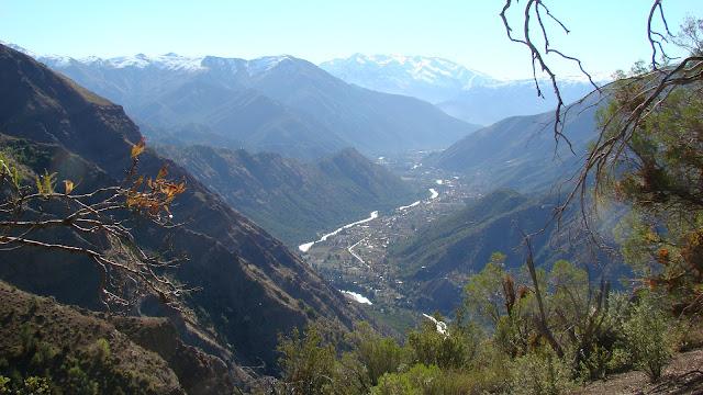Cajon del Maipo, Santiago, Chile