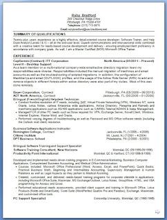 desktop support resume pattern in word format free download - Desktop Support Resume