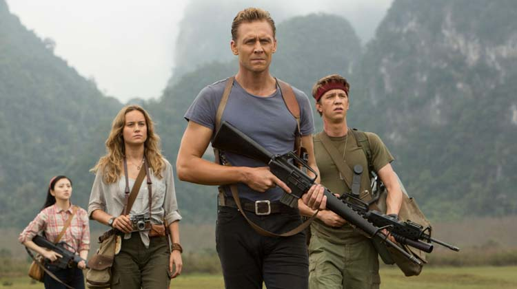 Tom Hiddlestone, Brie Larson y otros en Kong: Skull Island