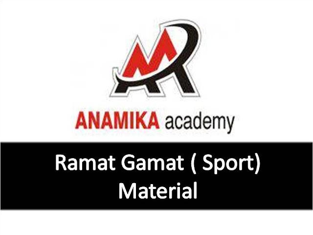 Anamika Academy - Ramat Gamat Sports Material PDF