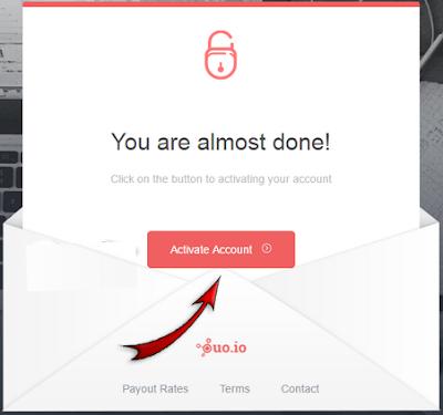 Cara Mendaftar di ouo.io Dengan Mudah dan Cepat