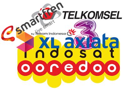 Cara Registrasi Ulang Atau Daftar Kartu Prabayar Telkomsel, Indosat Oooredoo, XL Axiata, Tri dan Smartfren (Terbaru)
