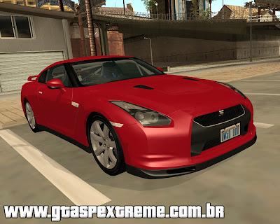 Nissan GT-R R35 Spec-V 2010 para grand theft auto