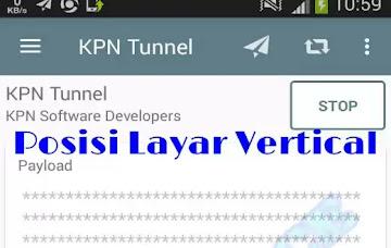 Cara Membuka Config KPN Tunnel Yang Dikunci