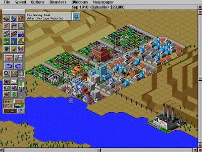 Videojuego Sim City 2000