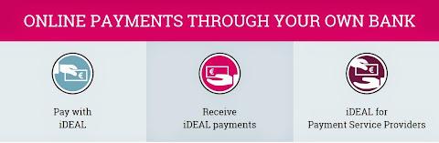 圖說: iDeal 第三支付可直接轉帳到方電商銀行帳號,圖片來源: iDeal 網站