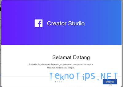 uji kelayakan akses jeda iklan di FB Creator