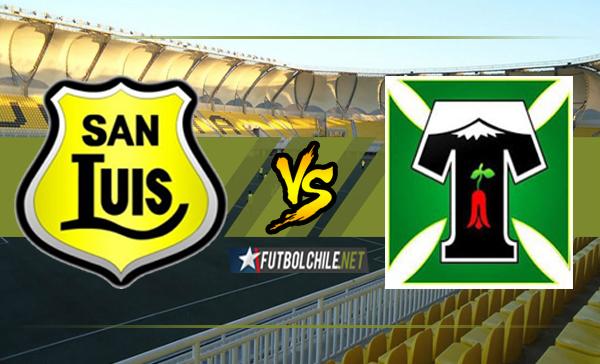 San Luis vs Deportes Temuco
